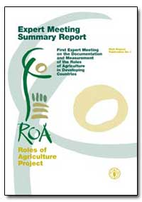 Expert Meeting Summary Report First Expe... by Food and Agriculture Organization of the United Na...