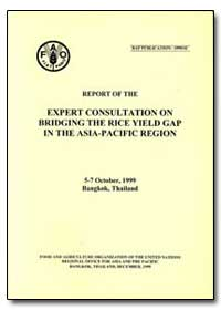 Report of the Expert Consultation on Bri... by Food and Agriculture Organization of the United Na...