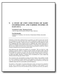 A Study of Cost Structures of Dairy Co-O... by Yusdja, Yusmichad