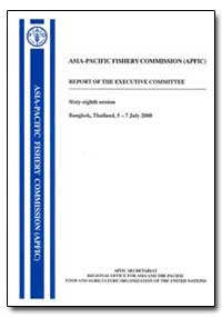 Asia-Pacific Fishery Commission (Apfic) ... by Food and Agriculture Organization of the United Na...