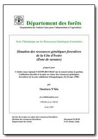 Situation des Ressources Genetiques Fore... by Nklo, Ouattara