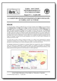 La Saison des Pluies Est Maintenant Bien... by Food and Agriculture Organization of the United Na...