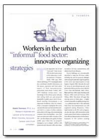 Workers in the Urban Informal Food Secto... by Yasmeen, Gisele
