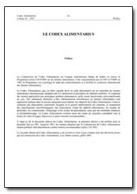 Le Codex Alimentarius by Food and Agriculture Organization of the United Na...