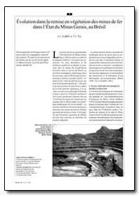 Evolution Dans la Remise en Vegetation d... by Griffith, J. J.