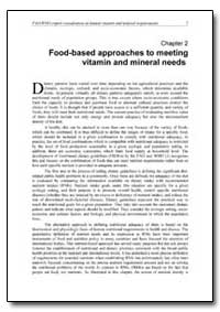 Chapter 2 Food-Based Approaches to Meeti... by Food and Agriculture Organization of the United Na...
