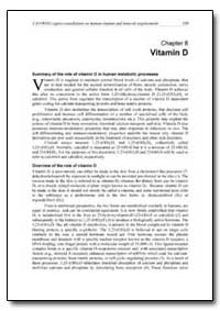 Chapter 8 Vitamin D by Food and Agriculture Organization of the United Na...