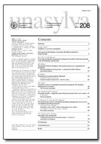 An International Journal of Forestry and... by Food and Agriculture Organization of the United Na...