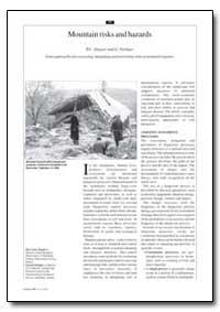 Mountain Risks and Hazards by Zingari, P. C.
