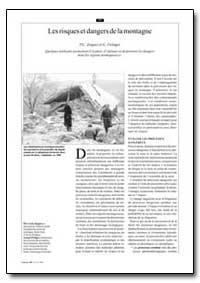 Les Risques et Dangers de la Montagne by Zingari, P. C.