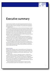 Executive Summary by Food and Agriculture Organization of the United Na...