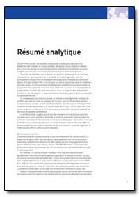 Resume Analytique by Food and Agriculture Organization of the United Na...