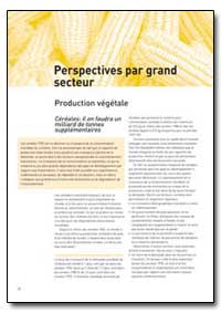Perspectives par Grand Secteur by Food and Agriculture Organization of the United Na...