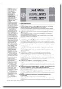 Iand Reform by Food and Agriculture Organization of the United Na...
