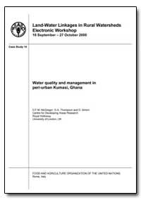 Water Quality and Management in Peri-Urb... by Mcgregor, D. F. M.