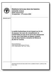 La Petite Hydraulique et Son Impact sur ... by Mechergui, Mohamed