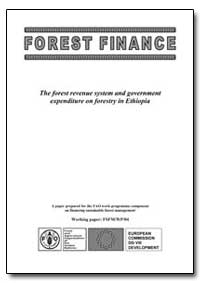 Forest Finance by Food and Agriculture Organization of the United Na...
