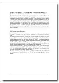 The Fisheries Sector and Its Environment by Food and Agriculture Organization of the United Na...