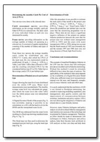 Determination of Yield by Food and Agriculture Organization of the United Na...