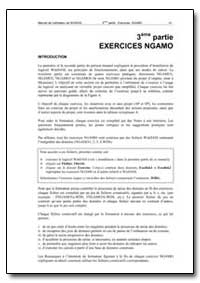 Exercices Ngamo by Food and Agriculture Organization of the United Na...