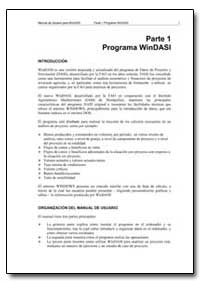 Parte 1 Programa Windasi by Food and Agriculture Organization of the United Na...