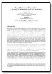 Inland Fisheries and Aquaculture : A Syn... by De Silva, Sena S.