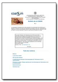 Bulletin de la Coaim by Food and Agriculture Organization of the United Na...