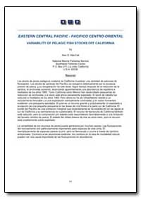 Eastern Central Pacific-Pacifico Centro-... by Food and Agriculture Organization of the United Na...