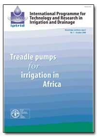 Treadle Pumps for Irrigation in Africa by Food and Agriculture Organization of the United Na...