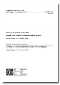 Committee for Inland Fisheries of Africa by Food and Agriculture Organization of the United Na...