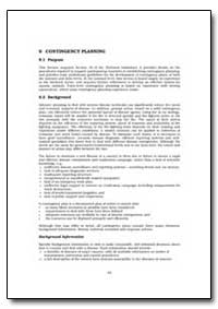 Contingency Planning by Food and Agriculture Organization of the United Na...
