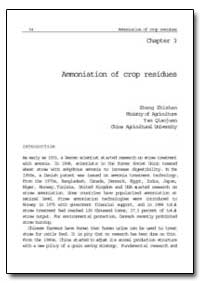Ammoniation of Crop Residues by Food and Agriculture Organization of the United Na...