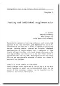 Feeding and Individual Supplementation by Food and Agriculture Organization of the United Na...