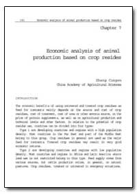Economic Analysis of Animal Production B... by Cungen, Zhang
