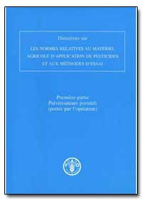 Directives sur les Normes et les Methode... by Food and Agriculture Organization of the United Na...