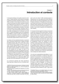 Introduction et Contexte by Food and Agriculture Organization of the United Na...