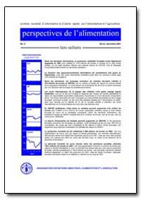 Faits Saillants by Food and Agriculture Organization of the United Na...