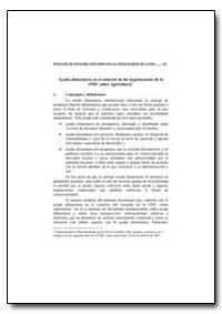 Ayuda Alimentaria en El Contexto de las ... by Food and Agriculture Organization of the United Na...