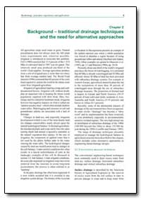 The Need for Alternative Approaches by Food and Agriculture Organization of the United Na...