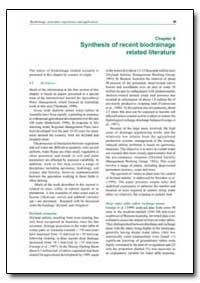 Synthesis of Recent Biodrainage Related ... by Food and Agriculture Organization of the United Na...