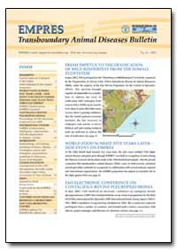 Transboundary Animal Diseases Bulletin by Food and Agriculture Organization of the United Na...