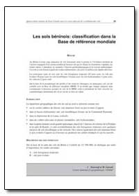 Les Sols Beninois : Classification Dans ... by Food and Agriculture Organization of the United Na...