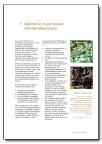 Quentend-On par Secteur Informel Aliment... by Food and Agriculture Organization of the United Na...
