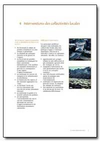 Interventions des Collectivites Locales by Food and Agriculture Organization of the United Na...