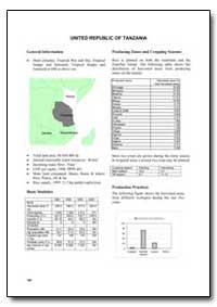 United Republic of Tanzania by Food and Agriculture Organization of the United Na...