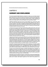 Summary and Conclusions by Food and Agriculture Organization of the United Na...