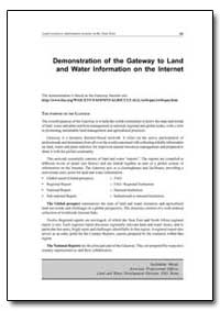 Demonstration of the Gateway to Land and... by Food and Agriculture Organization of the United Na...