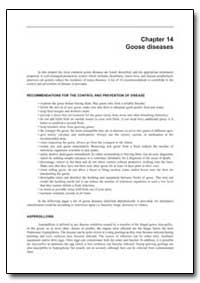 Goose Diseases by Food and Agriculture Organization of the United Na...