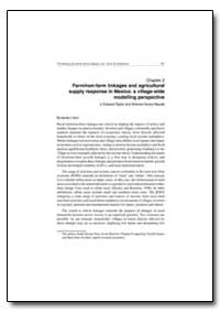 Farm/Non-Farm Linkages and Agricultural ... by Taylor, J, Edward