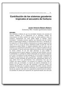 Contribucion de Los Sistemas Ganaderos T... by Food and Agriculture Organization of the United Na...